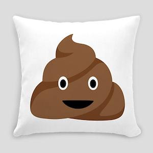 Poop Emoticon Everyday Pillow
