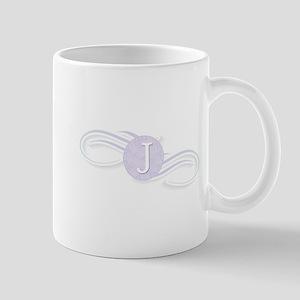 Monogram J Swirl Mug