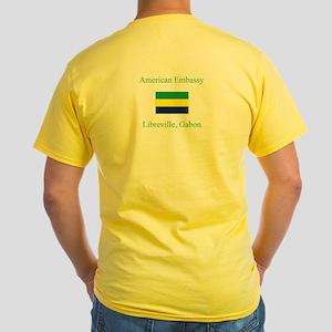 Libreville, Gabon Yellow T-Shirt