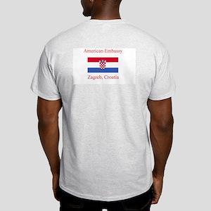 Zagreb, Croatia Light T-Shirt