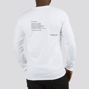 Foreign Service Recipe Long Sleeve T-Shirt