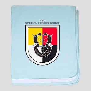 3rd Special Forces Group baby blanket