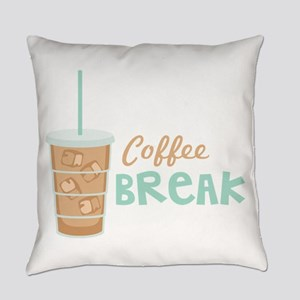 Coffee Break Everyday Pillow