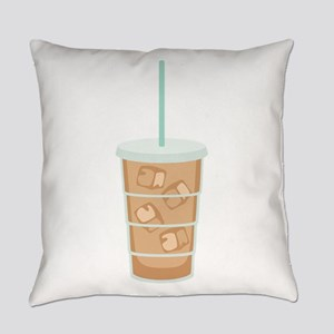 Iced Coffee Drink Everyday Pillow