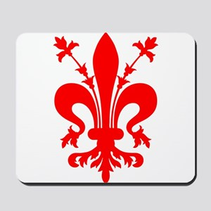 Giglio Firenze florence lys Mousepad