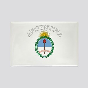 Argentina Coat of Arms Rectangle Magnet