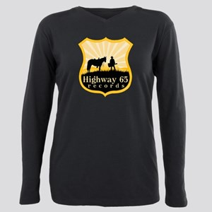 Highway 65 Records Plus Size Long Sleeve Tee
