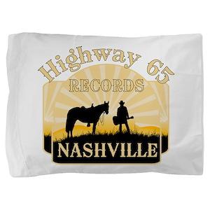 Nashville TV Pillow Sham