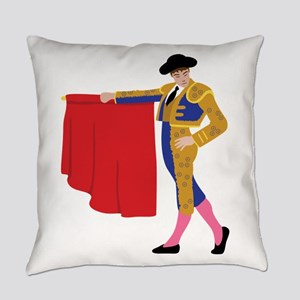 Matador Spanish Bull Fighting Everyday Pillow