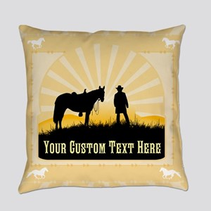 Personalized Western Everyday Pillow