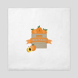 Fresh Peaches Queen Duvet