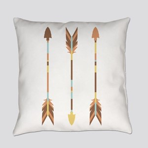 Indian Arrows Everyday Pillow