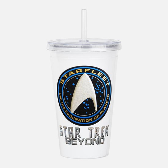 star trek beyond Acrylic Double-wall Tumbler