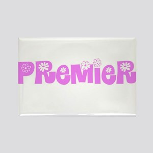 Premier Pink Flower Design Magnets
