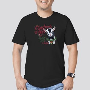 Christmas Wishes Baby Men's Fitted T-Shirt (dark)