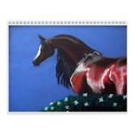 Cabart by Cindy Beck Wall Calendar