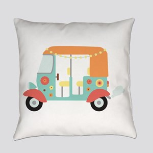 Indian Tuk-Tuk Everyday Pillow