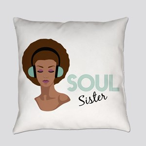Soul Sister Everyday Pillow
