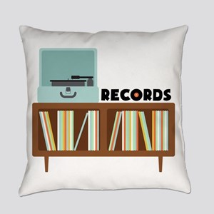 Records Everyday Pillow