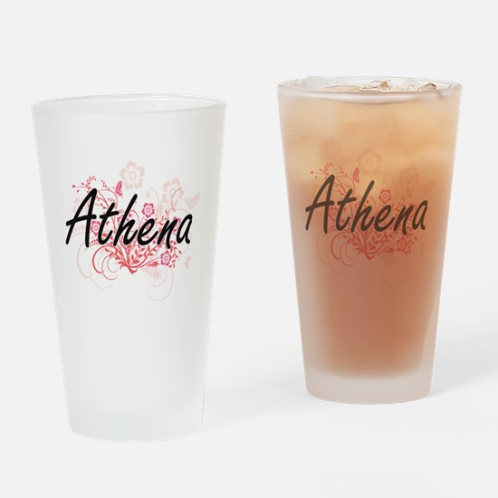 Cute Athena Drinking Glass