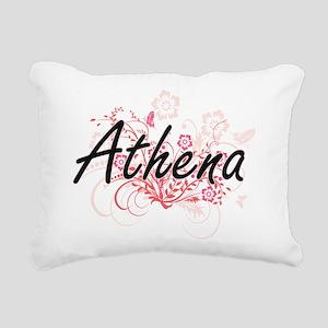 Athena Artistic Name Des Rectangular Canvas Pillow