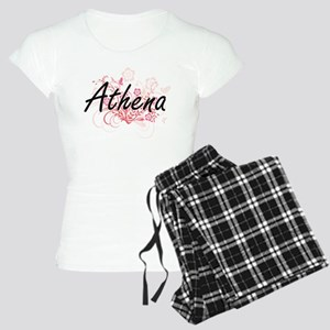 Athena Artistic Name Design Women's Light Pajamas