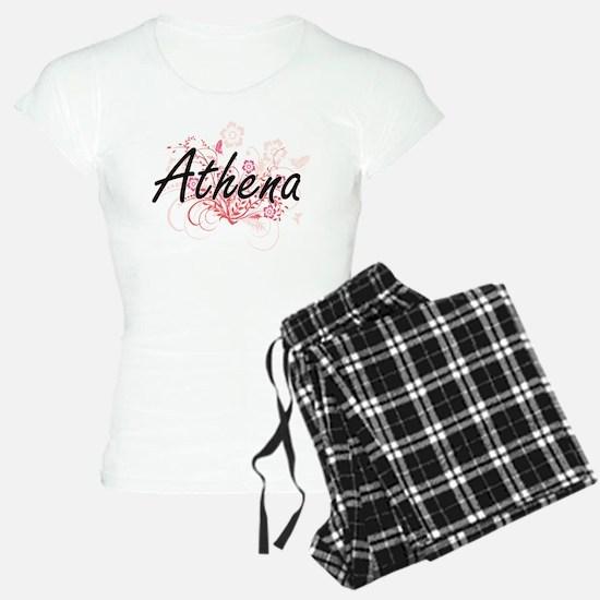 Athena Artistic Name Design Pajamas