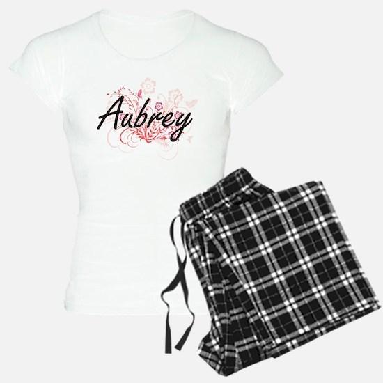 Aubrey Artistic Name Design Pajamas
