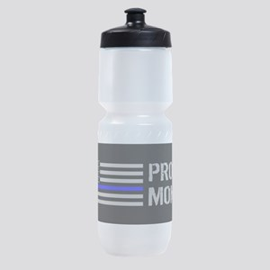 Police: Proud Mom Sports Bottle