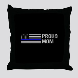 Police: Proud Mom Throw Pillow