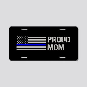 Police: Proud Mom Aluminum License Plate