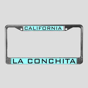La Conchita License Plate Frame