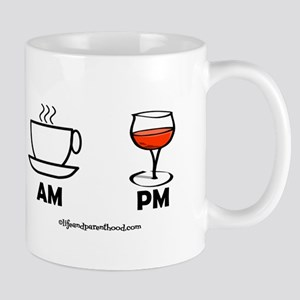 COFFEE AM - WINE PM Mugs
