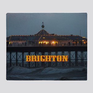 BRIGHTON PIER-PRO PHOTO Throw Blanket
