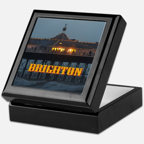BRIGHTON PIER-PRO PHOTO Keepsake Box
