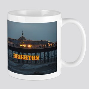 BRIGHTON PIER-PRO PHOTO Mugs