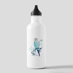 Blue Parakeet Stainless Water Bottle 1.0L