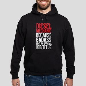 Badass Diesel Mechanic Hoodie (dark)