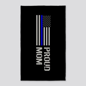 Police: Proud Mom Area Rug