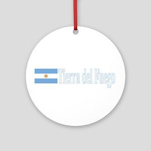 Tierra del Fuego, Argentina Ornament (Round)