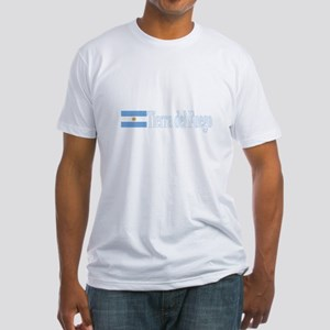 Tierra del Fuego, Argentina Fitted T-Shirt