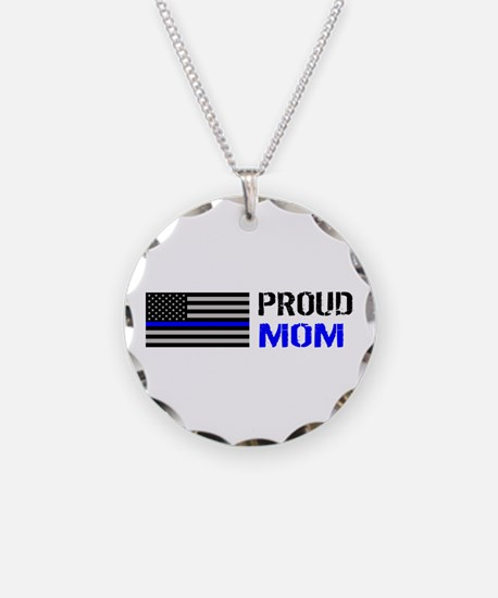 Police: Proud Mom Necklace