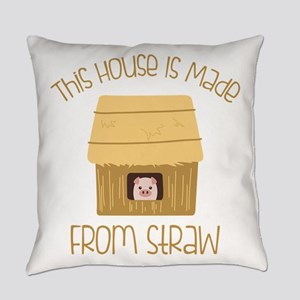 Made From Straw Everyday Pillow