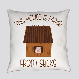 Made From Sticks Everyday Pillow