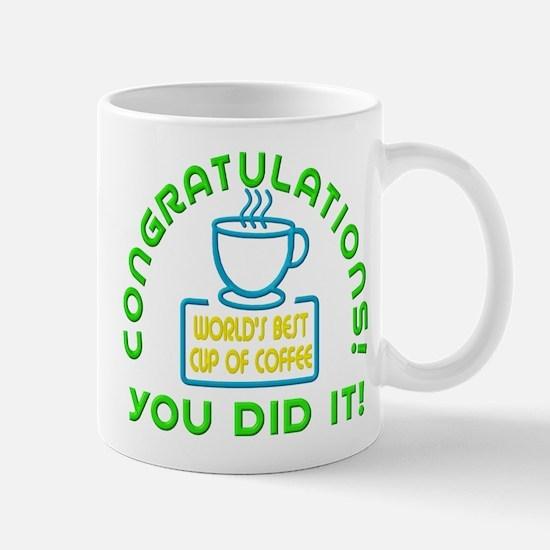 Congratulations You Did It Elf Classic Mugs
