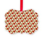 Christmas Clownfish Pattern Ornament