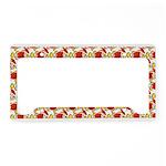 Christmas Clownfish Pattern License Plate Holder