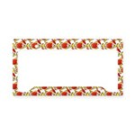 Christmas Clownfish Pattern License Plate Holder