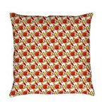 Christmas Clownfish Pattern Everyday Pillow