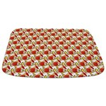 Christmas Clownfish Pattern Bathmat